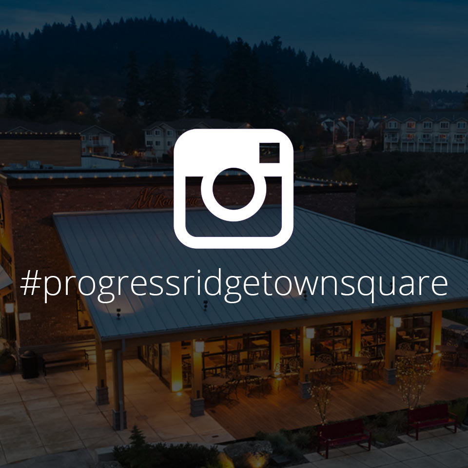 Progress Ridge TownSquare on Instagram