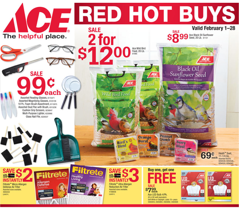 Ace Hardware Specials