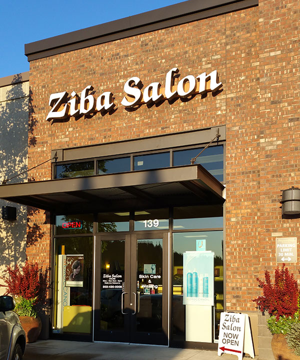 Ziba Salon Progress Ridge