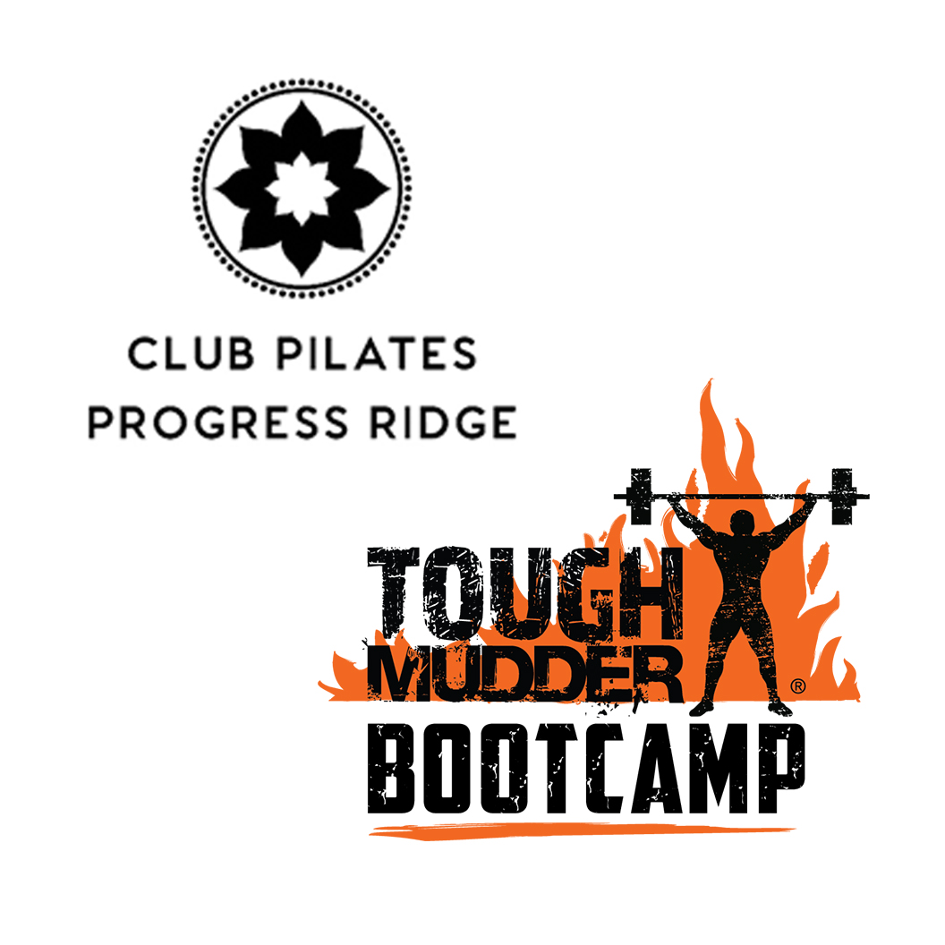 Club Pilates and Tough Mudder Bootcamp logo