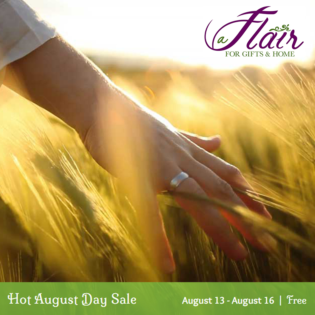 A Flair For Gifts & Home_Hot August Day Sale