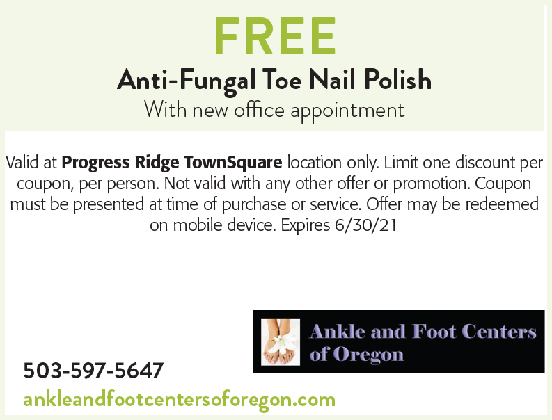 Ankle and Foot Centers of Oregon online coupon