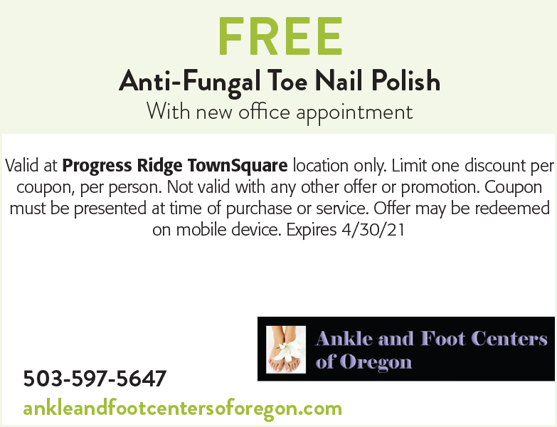 Ankle and Foot Centers of Oregon coupon