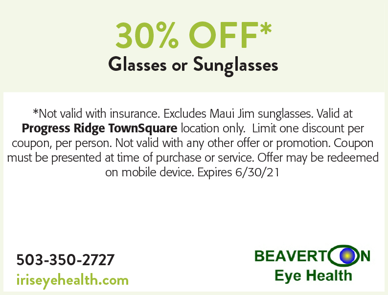 Beaverton Eye Health online coupon