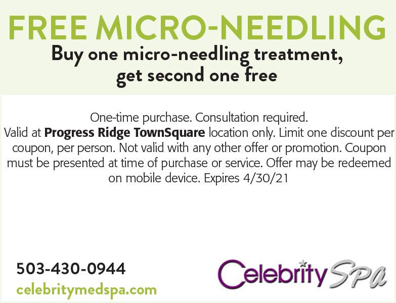 Celebrity Spa coupon