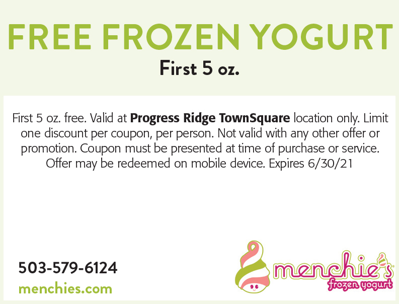 Menchie's Frozen Yogurt online coupon