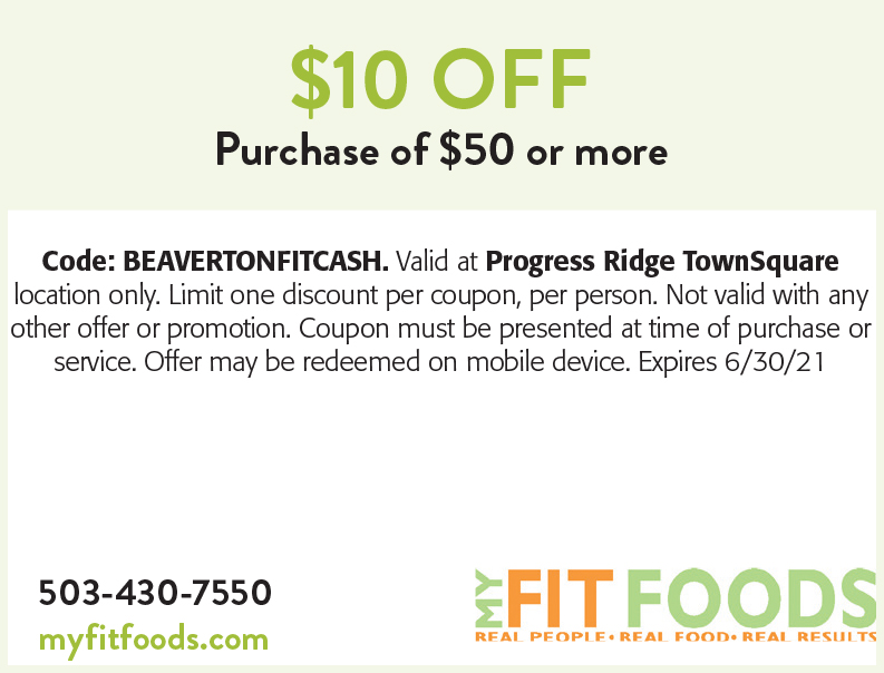 My Fit Foods online coupons