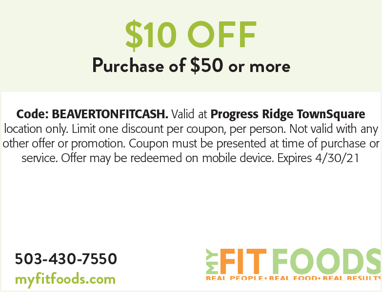 My Fit Foods coupon