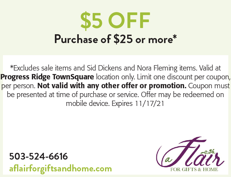 A Flair For Gifts & Home online coupon
